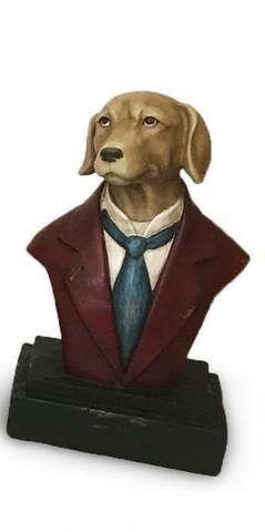 Декор Бюст собаки