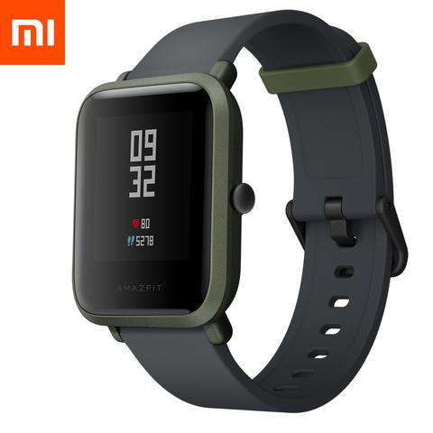 Смарт-часы Xiaomi Amazfit Bip Lite Youth Smart Watch (international version/зеленый)