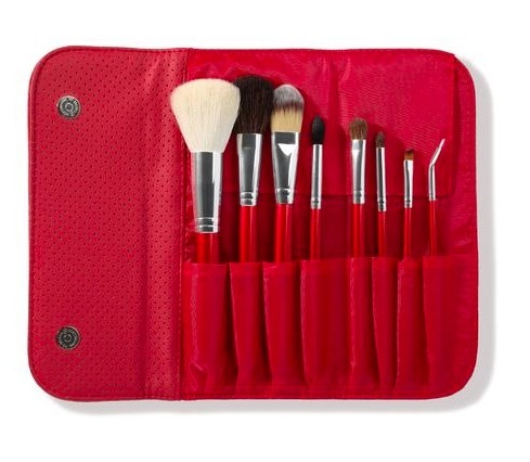 Morphe 8 Piece Candy Apple Red Brush Set набор кистей