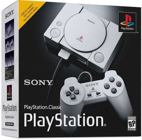 Sony PlayStation Classic + 20 игр