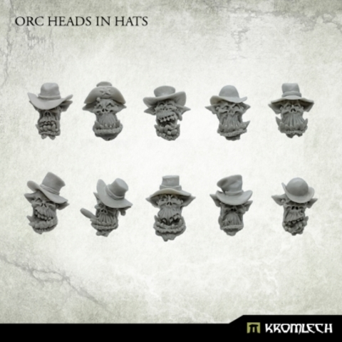 Orc Heads in Hats (10)