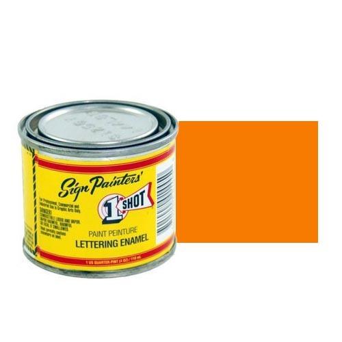 124-L Эмаль для пинстрайпинга 1 Shot Оранжевый (Orange), 118 мл