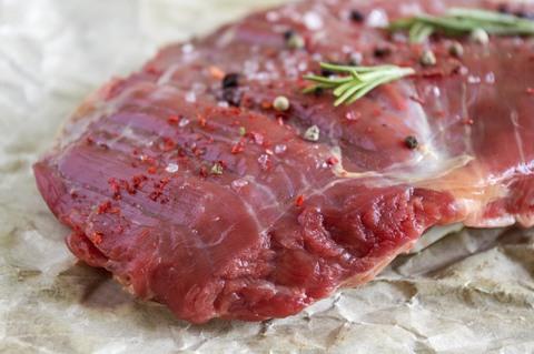Сочный кусок говядины