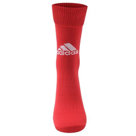 купить Гетры для становой тяги Adidas Santos красные вид спереди