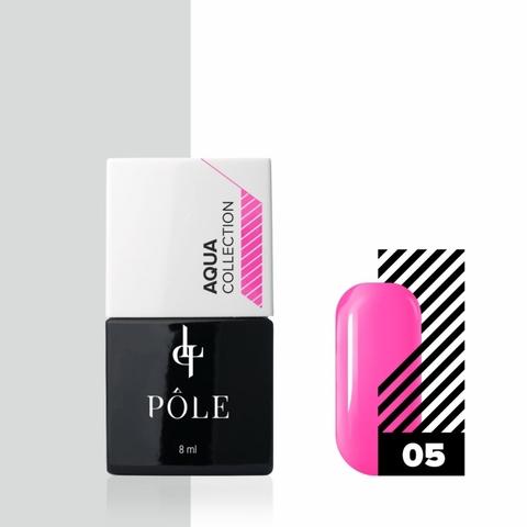 Краска POLE для акварельной техники Aqua Collection №05 розовая (8 мл)