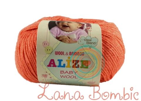 Пряжа Alize Baby Wool коралловый 619