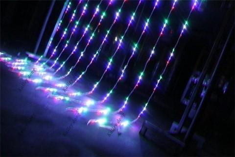 водопад мультик  светодиодный