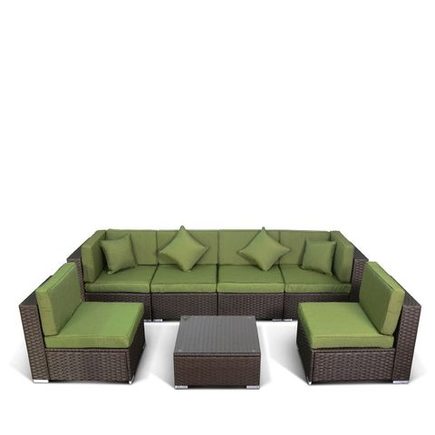 Комплект мебели (иск. ротанг) 7 элементов