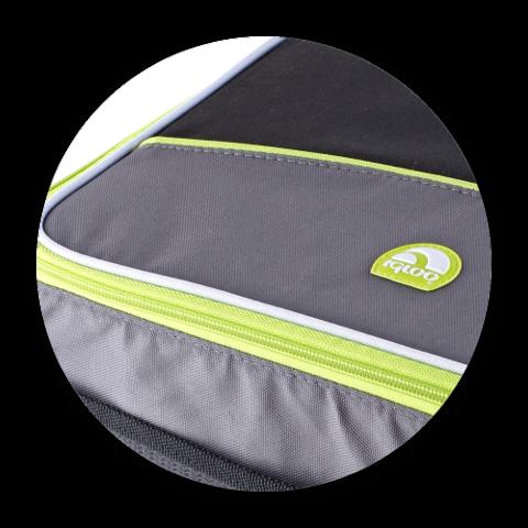 Сумка-холодильник (изотермическая) IGLOO Collapse&Cool 12 (graphite-green)