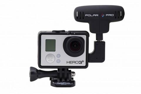 PolarPro Microphone Kit - Набор микрофонов для GoPro (стерео + петличка)