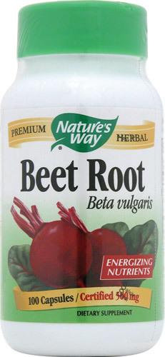 Nature's Way Nature's Way Beet Root Beta Vulgaris -- 100 Capsules Natures-Way-Beet-Root-Beta-Vulgaris-033674104002.jpg