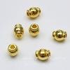 """Бусина металлическая """"Фонарик"""" (цвет - золото) 6х5 мм, 10 штук"""