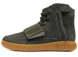Кеды Мужские Adidas Yeezy Boost 750 Dark Grey Green