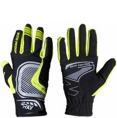 Лыжные перчатки Ray Про черный-жёлтый