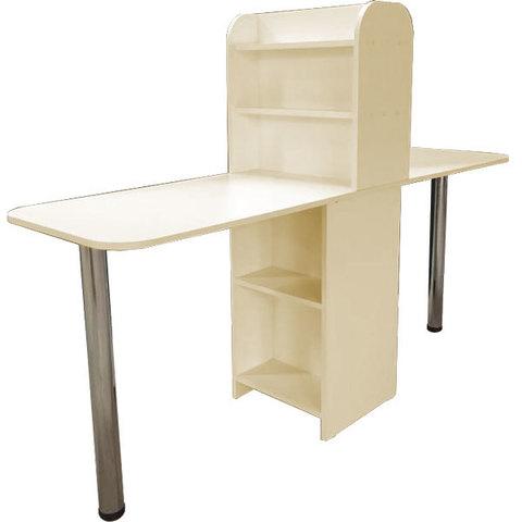 Складной маникюрный стол Комфорт №6 двойной