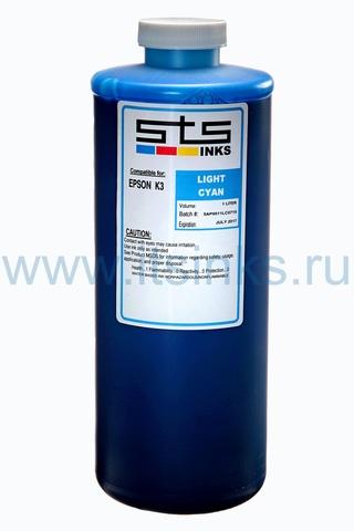 Пигментные чернила STS для Epson 7890/9890 Light Cyan 1000 мл