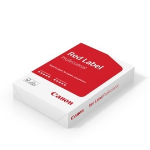 Бумага для ОфТех CANON Red Label Professional (А4,80г,172CIE%) пачка 500л.