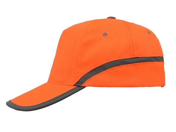 Головной убор сигналиста светоотражающий оранжевый