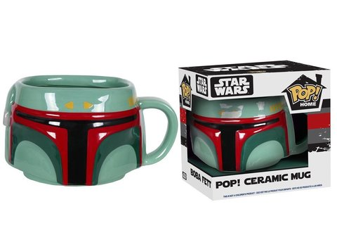 Кружка Funko POP! Home: Star Wars: Boba Fett Mug 7799