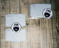 Угольный фильтр для масок FSK - KN 95 (комплект...
