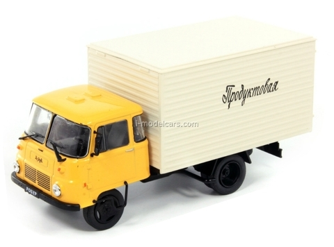 Robur LD3000 Goods Van USSR 1:43 DeAgostini Service Vehicle #72