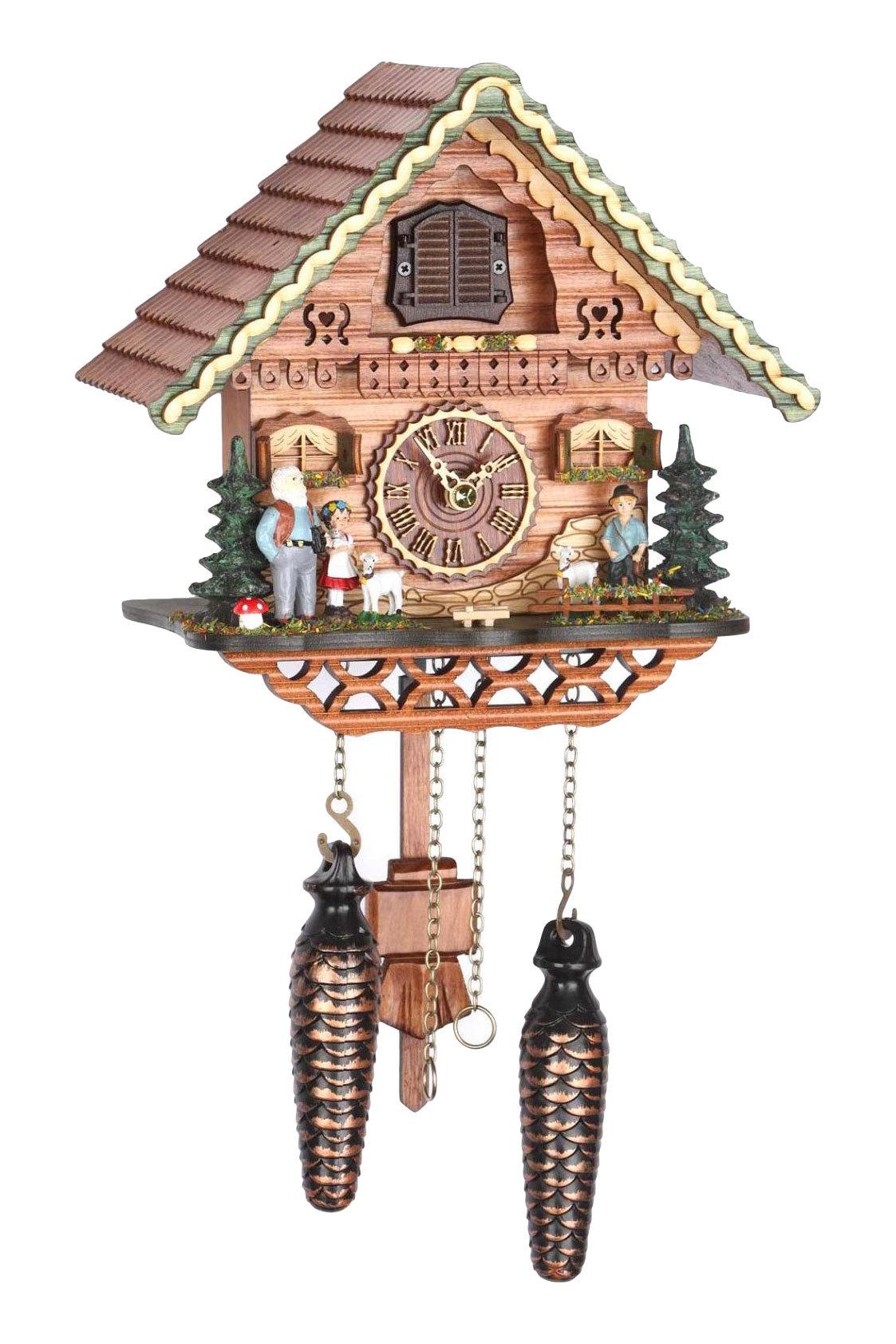 Часы настенные Часы настенные с кукушкой Trenkle 489 QM chasy-nastennye-s-kukushkoy-trenkle-489-qm-germaniya.jpg