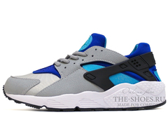 Кроссовки Женские Nike Air Huarache ES Grey Double Blue