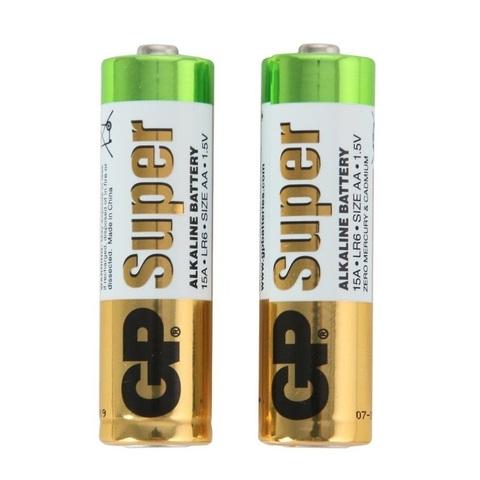 Комплект батареек AA GP Super (6шт)