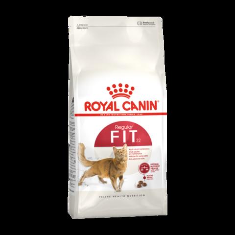 Royal Canin Fit Сухой корм для кошек бывающих на улице 1-7 лет