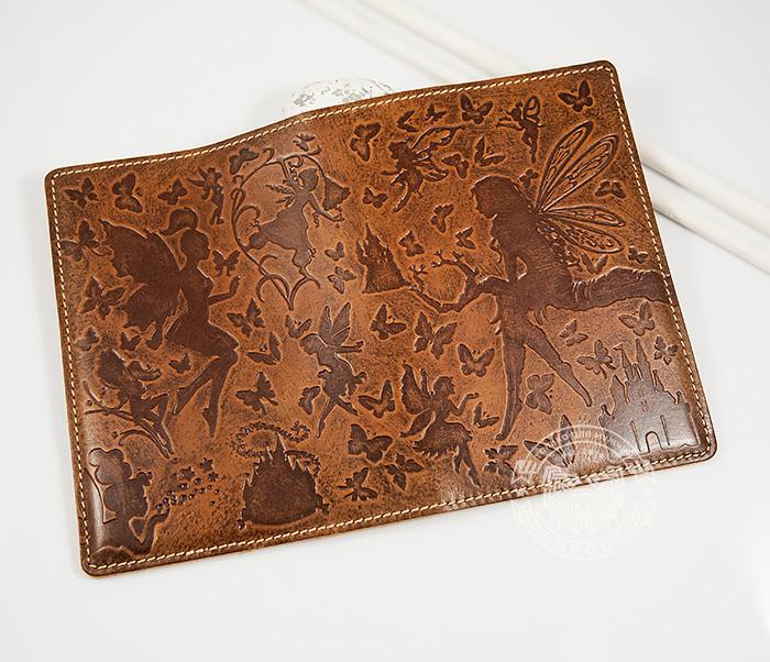 BY14-14-02 Прикольная обложка на паспорт «Фея» для прекрасных дам фото 02