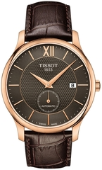 Мужские швейцарские часы Tissot Tradition Automatic Small Second T063.428.36.068.00