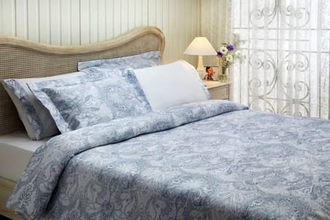 Постельное белье CRISTA голубой  TIVOLYO HOME Турция
