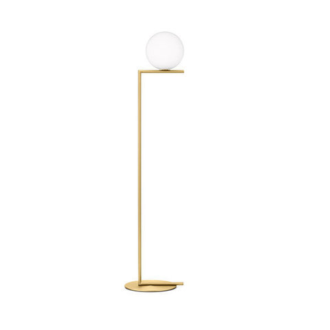 replica FLOS IC F1 GOLD  FLOOR LIGHT
