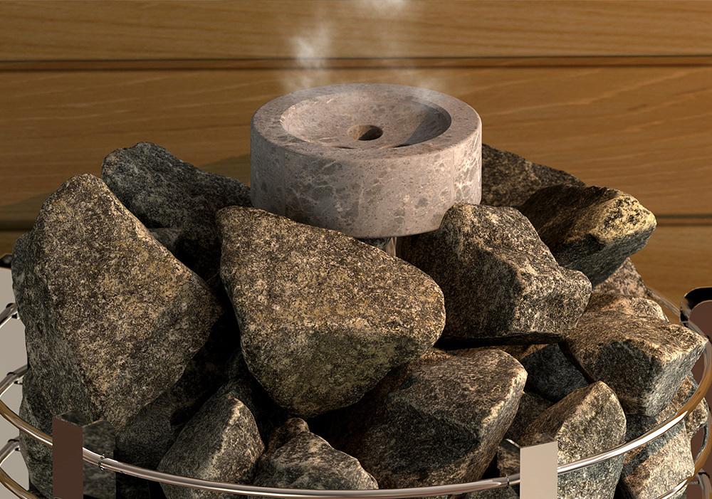 Увлажнители для каменки: Увлажнитель для сауны круглый SAWO HP01-070