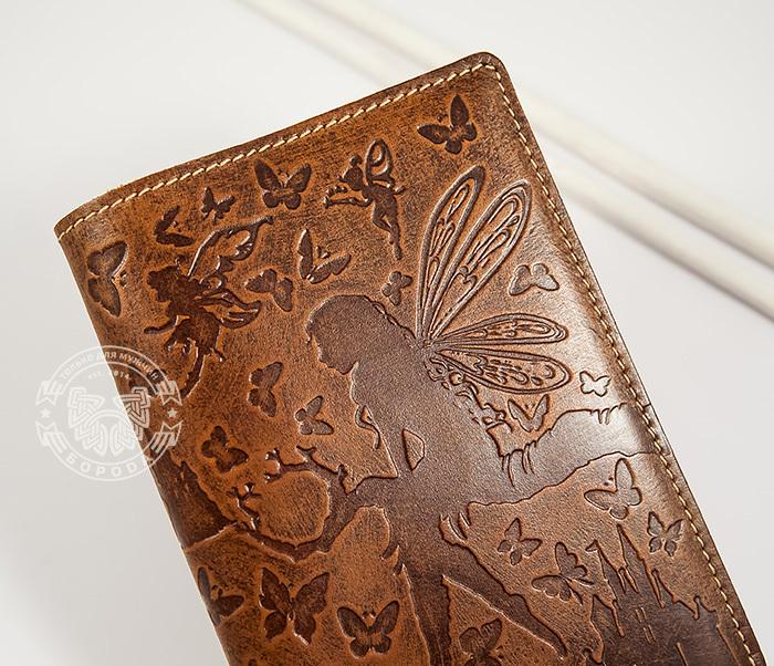 BY14-14-02 Прикольная обложка на паспорт «Фея» для прекрасных дам фото 03