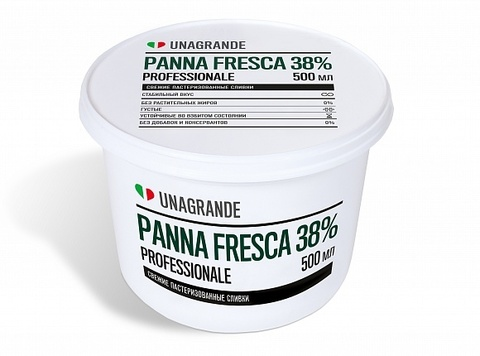 Сливки Panna Fresca 38%