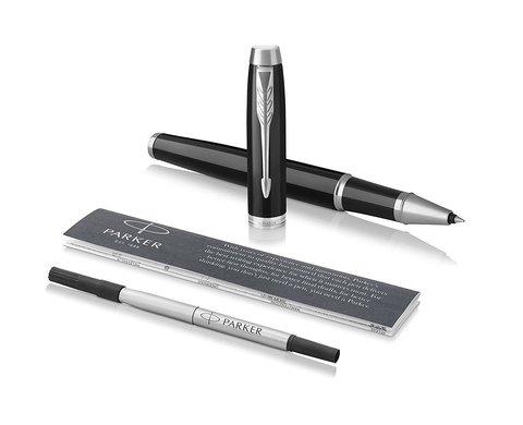 Набор: Ручка роллер и Шариковая ручка Parker IM Core  Black  CT123