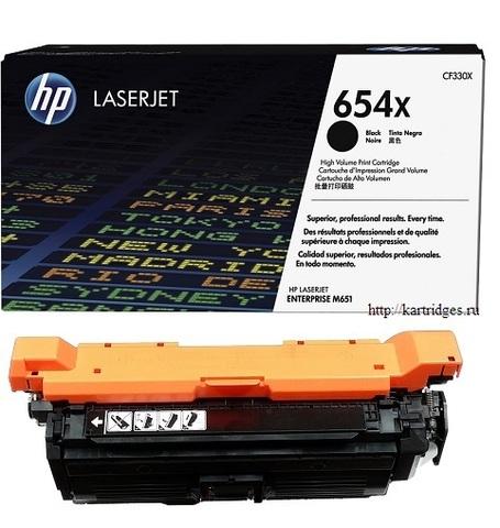 Картридж Hewlett-Packard (HP) CF330X №654X