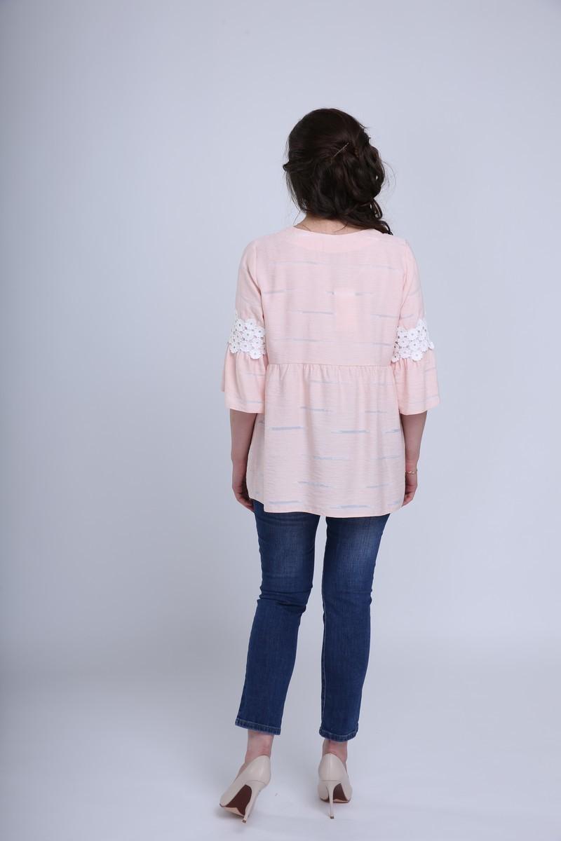 Блузка 09583 розовый