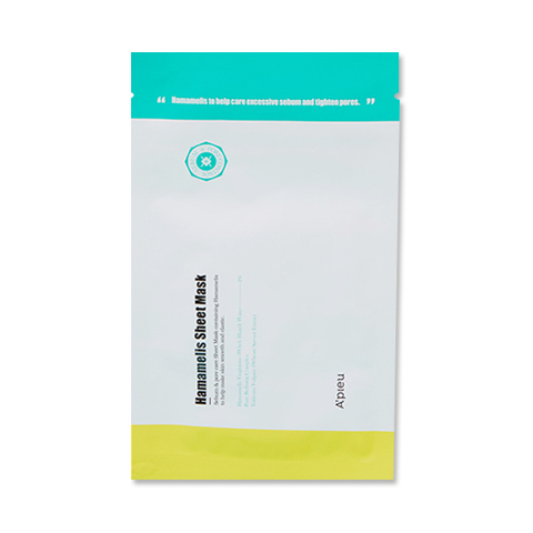 A'Pieu Тканевая маска Hamamelis Sheet Mask
