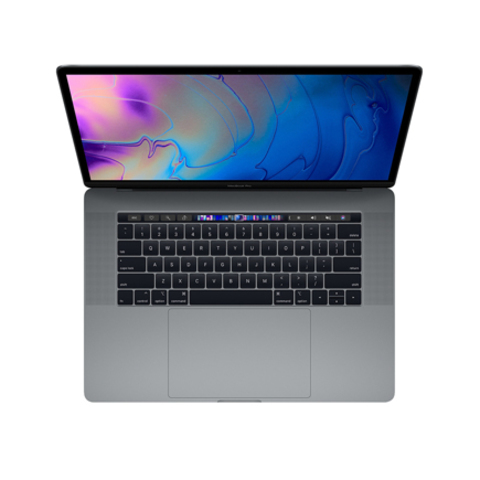 Apple MacBook Pro 15 Retina Touch Bar MV902 Space Gray (2,6 GHz, 16GB, 256Gb, Radeon Pro 555X)