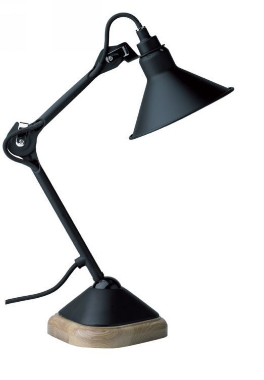 replica lampe gras 205 table lamp black. Black Bedroom Furniture Sets. Home Design Ideas