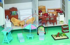 Огромный набор кукольной мебели