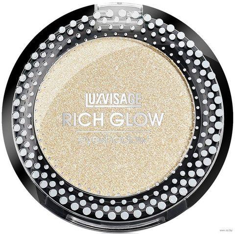 LuxVisage Тени компактные Rich Glow тон 01 champagne 2г