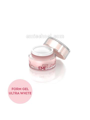 Form Gel Ultra White, Конструирующий ультрабелый гель, 5 гр