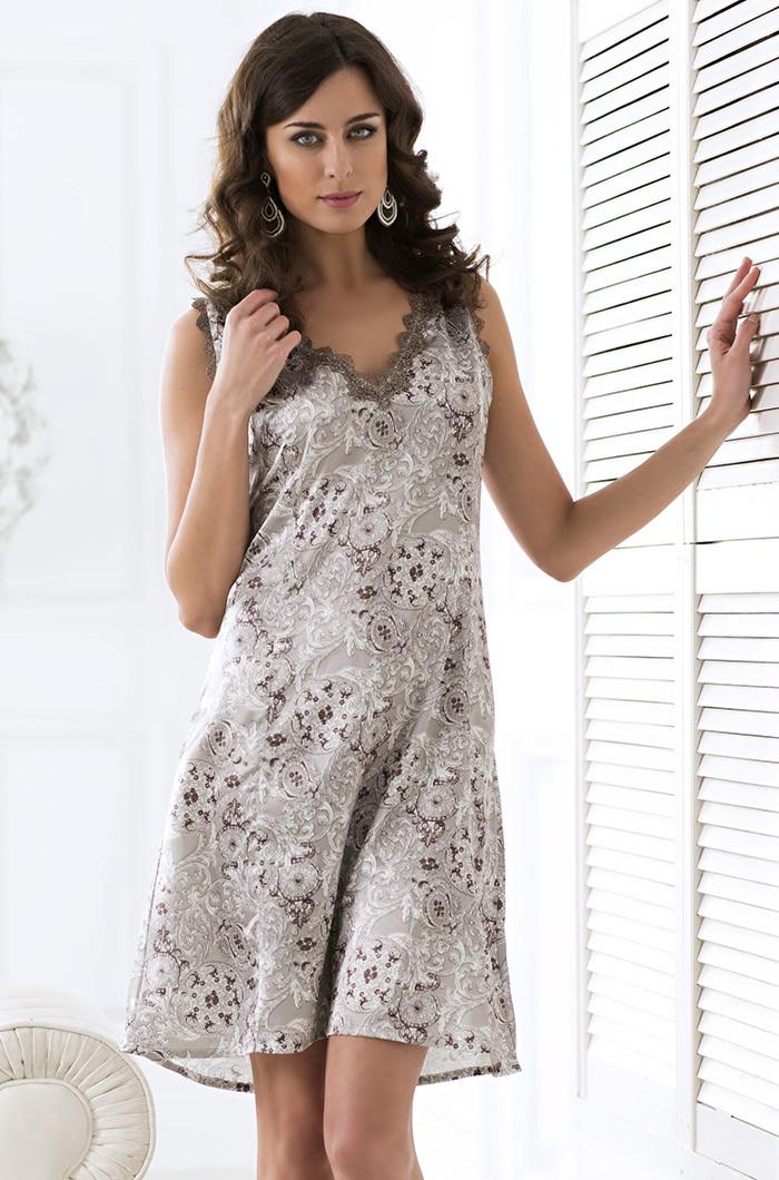 шелк искусственный Сорочка ночная женская MIA-AMORE  Стелла  9294 9294.jpg