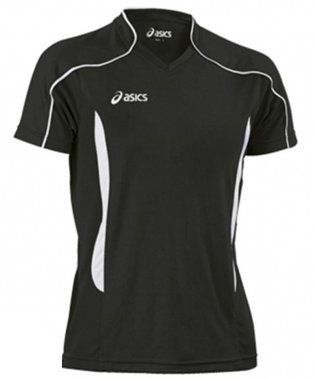Мужская волейбольная футболка Asics T-shirt Volo (T604Z1 9001) черная