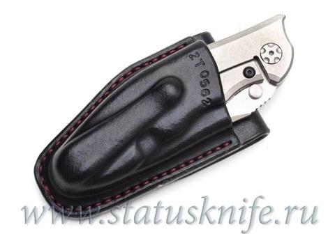Чехол кожаный черный ZT 0562