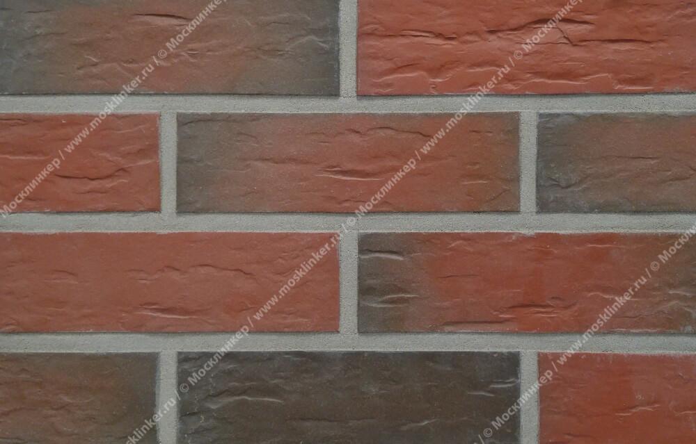 Roben - Rhon, bunt, NF14, 240x14x71, мерейная (genarbt) - Клинкерная плитка для фасада и внутренней отделки