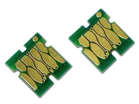 Чип для емкости с отработанными чернилами к Epson SureColor SC-T3000, T5000, T7000, SC-T3200, T5200, T7200, авто-обнуляемый без ресеттера